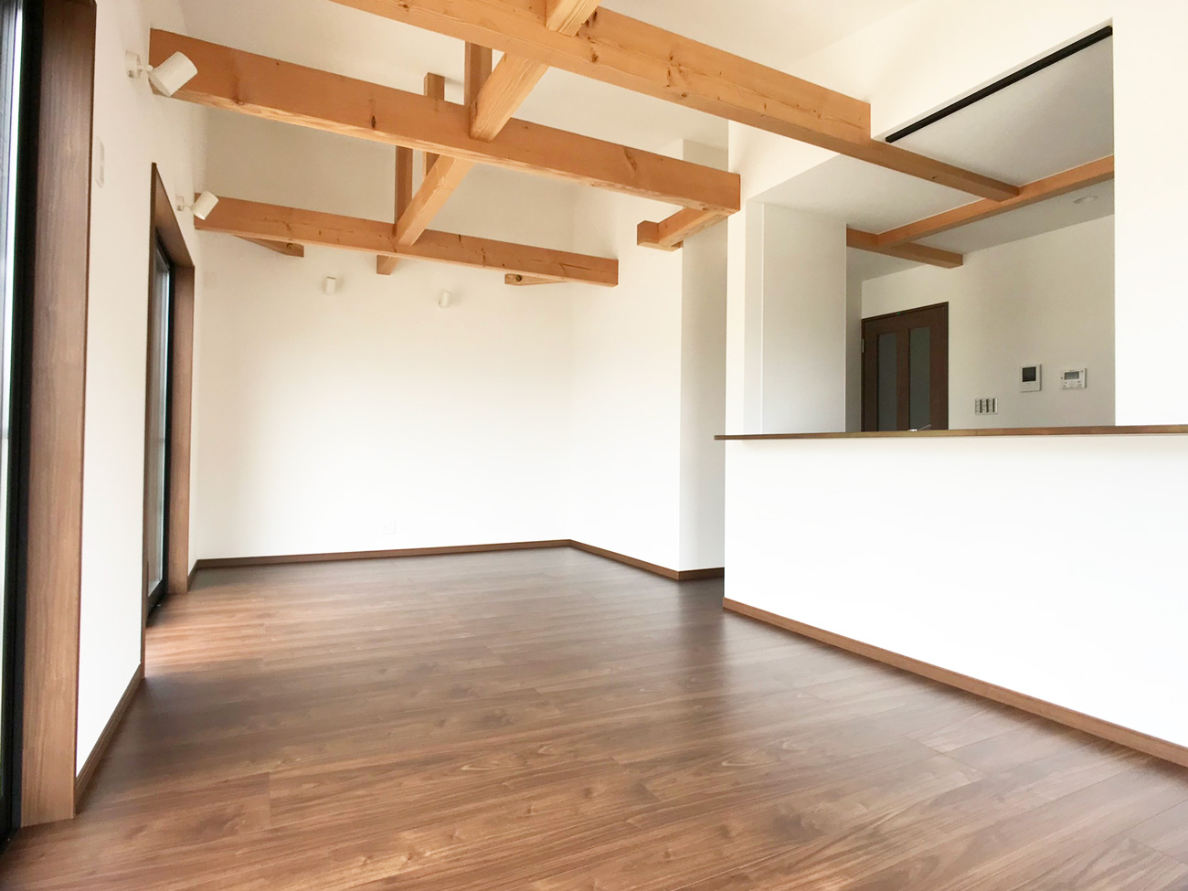 京都 広い土地の平屋新築一戸建て