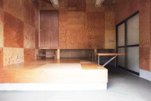 京都市右京区倉庫を多目的スペースへリノベーション