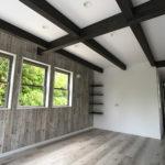 兵庫県 緑あふれる変形地の新築一戸建て