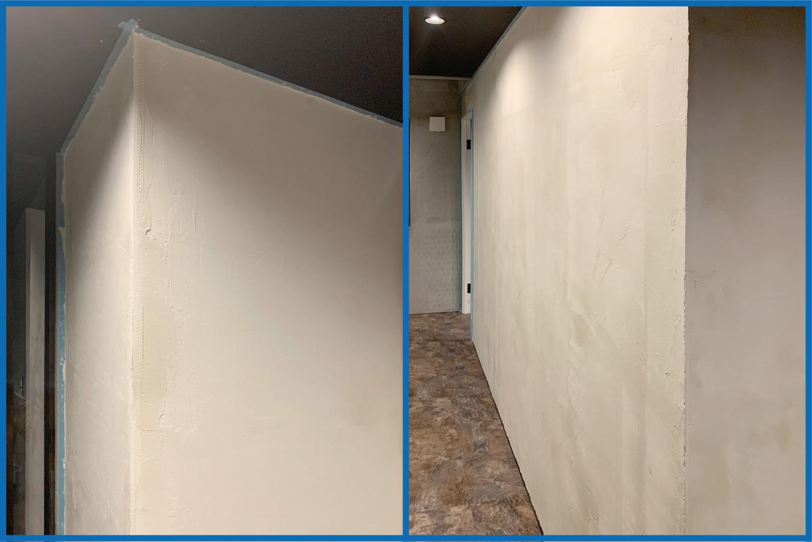殺菌効果あり!漆喰壁の施工方法:手順3/3